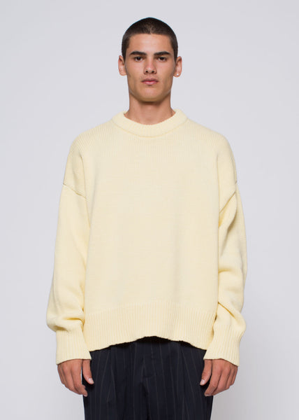 Odem Knit Faded Yellow