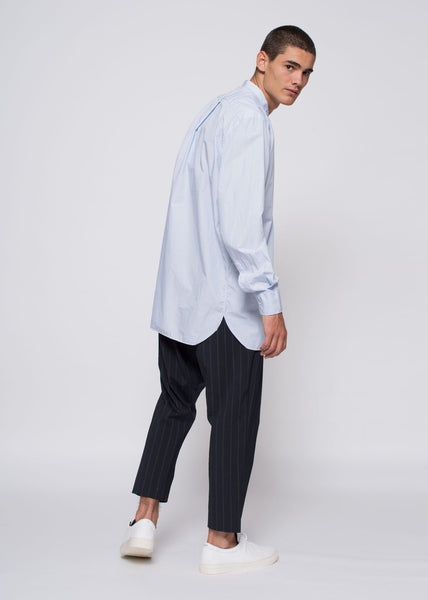 Tripoli Shirt Light Blue Stripe