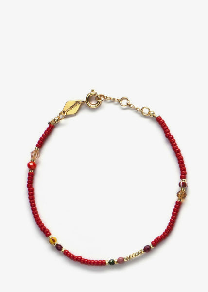 Bazaar Bracelet Cranberry Wine Red