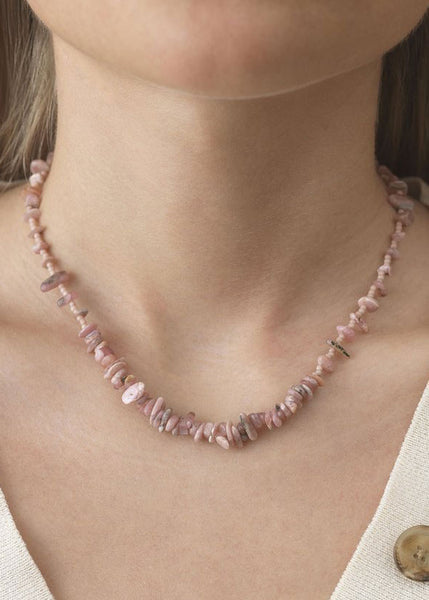 Reef Necklace Seashell Pink