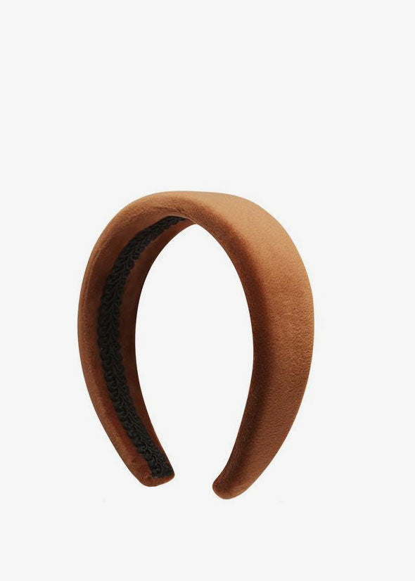 Dreyer Alice Band Caramel Velvet