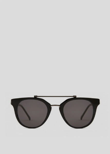 Biblio Remix Sunglasses Solid Black Kaibosh Womens Eyewear- someplace