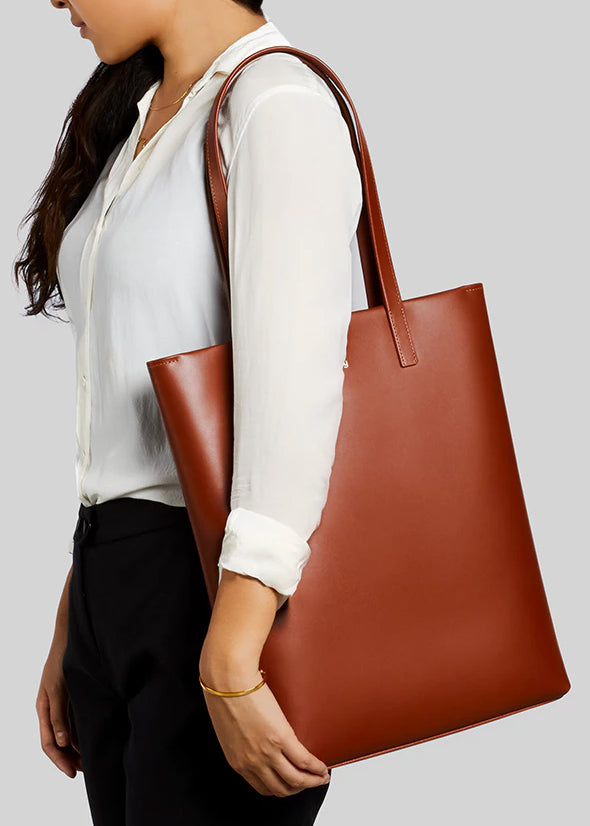 Melbourne Tote Designers Edition Burnt Sienna