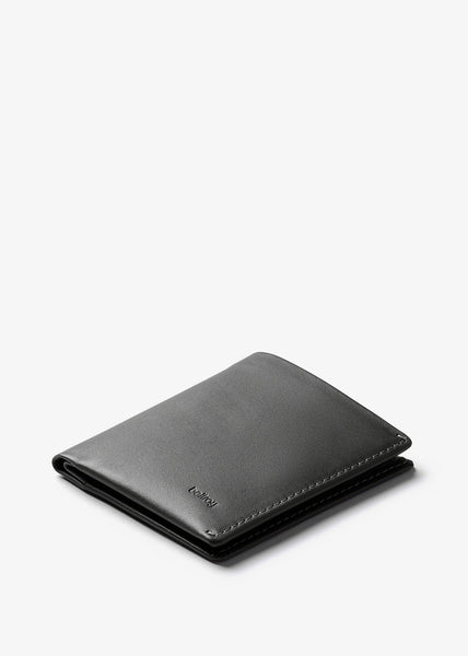 Note Sleeve Wallet Charcoal RFID