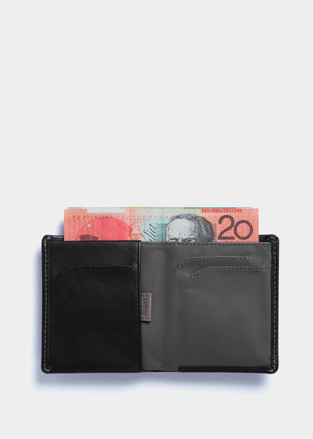 Note Sleeve Wallet Black RFID