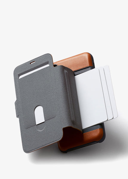 Phone Wallet iX Caramel