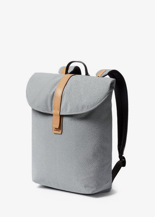 Slim Backpack Ash Grey