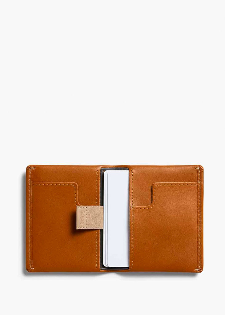 Slim Sleeve Wallet Caramel