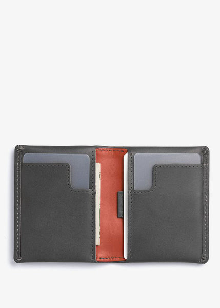 Slim Sleeve Wallet Charcoal Tangelo