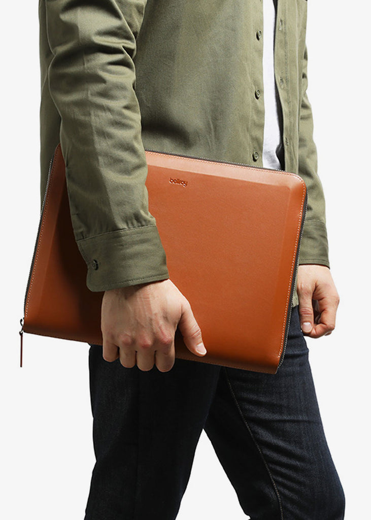 Tech Folio Caramel