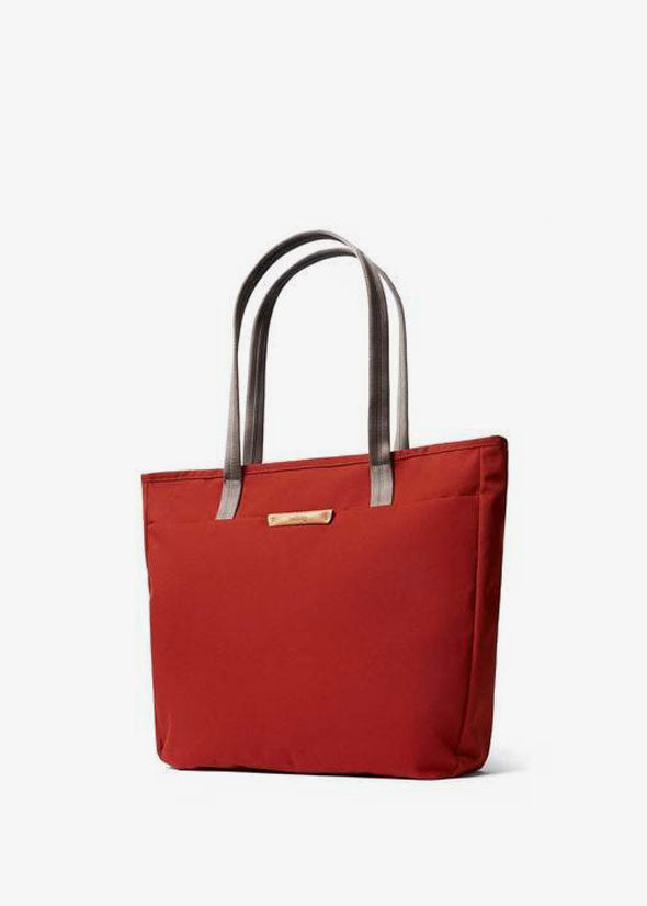 Tokyo Tote Bag Red Ochre