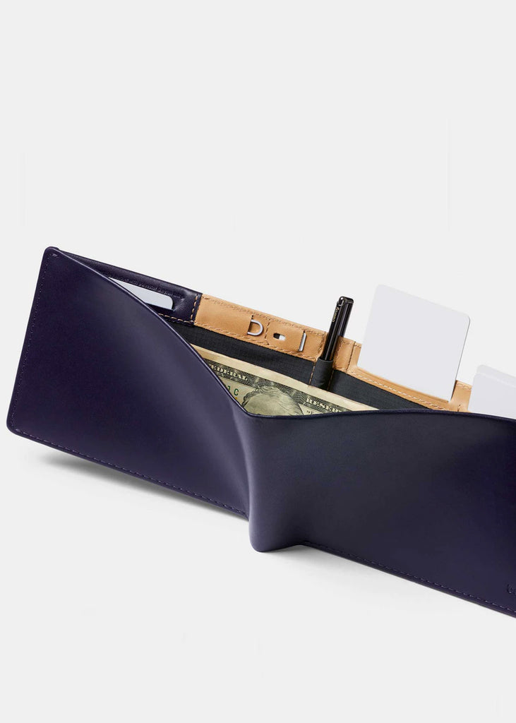 Travel Wallet Navy RFID