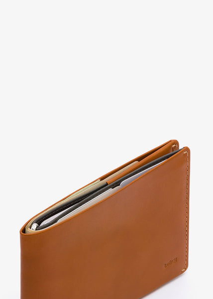 Travel Wallet Caramel RFID