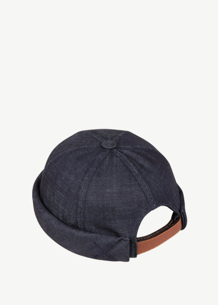 Miki Hat Denim Brut