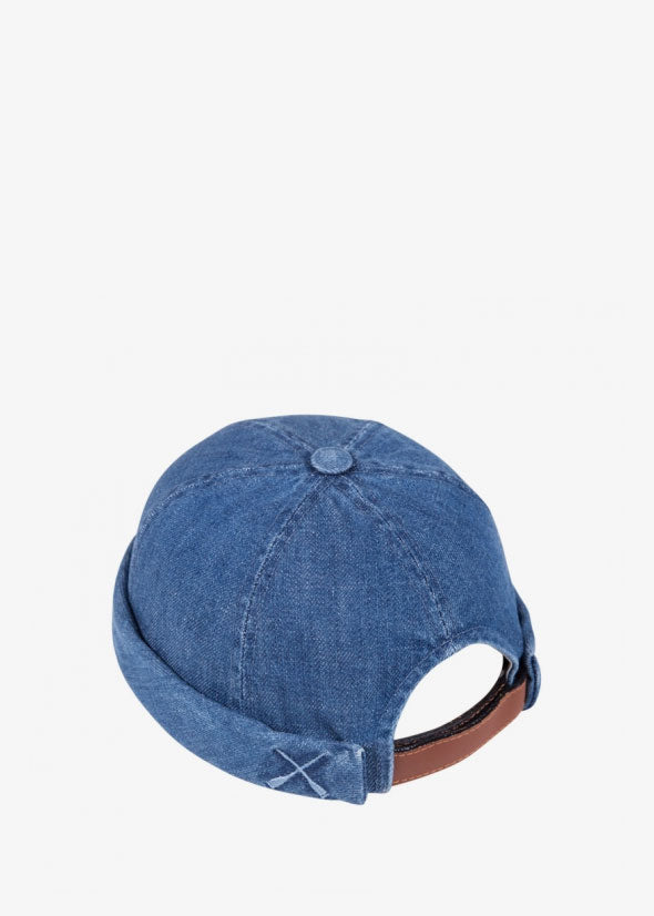 Miki Hat Denim Washed