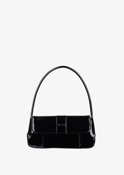 The Camille Bag Black Patent