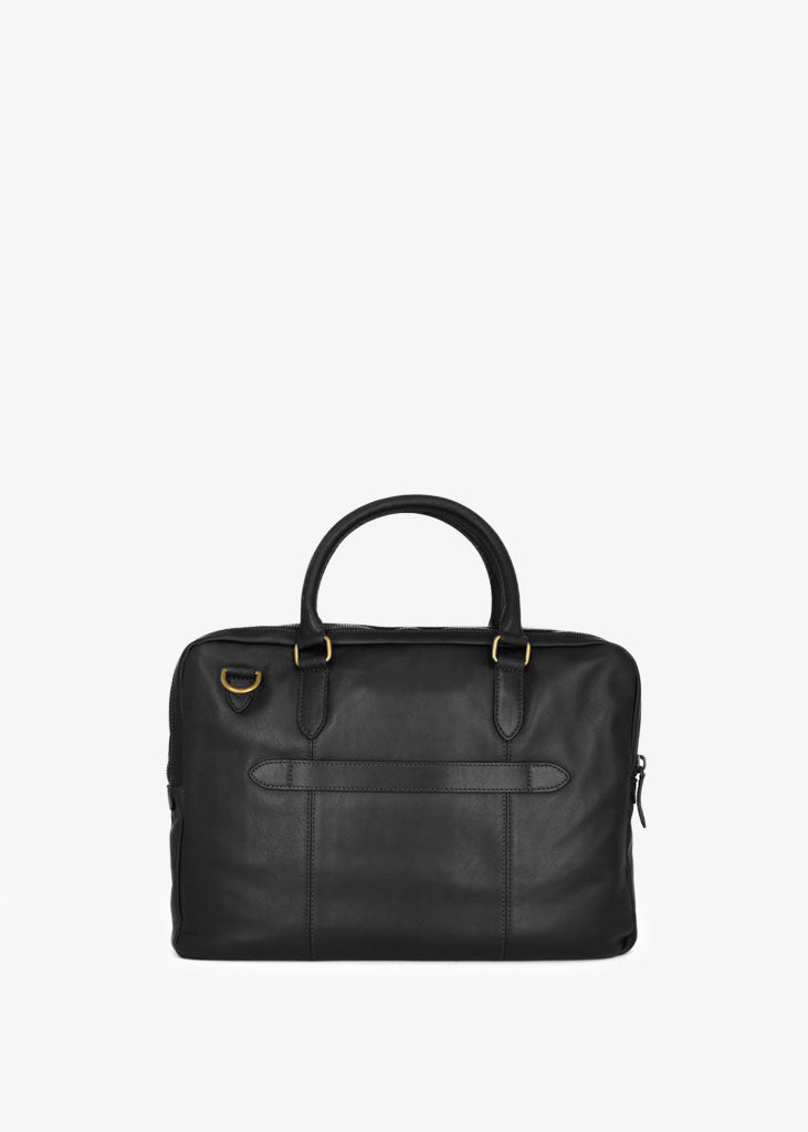 Capital Laptop Bag Double Black