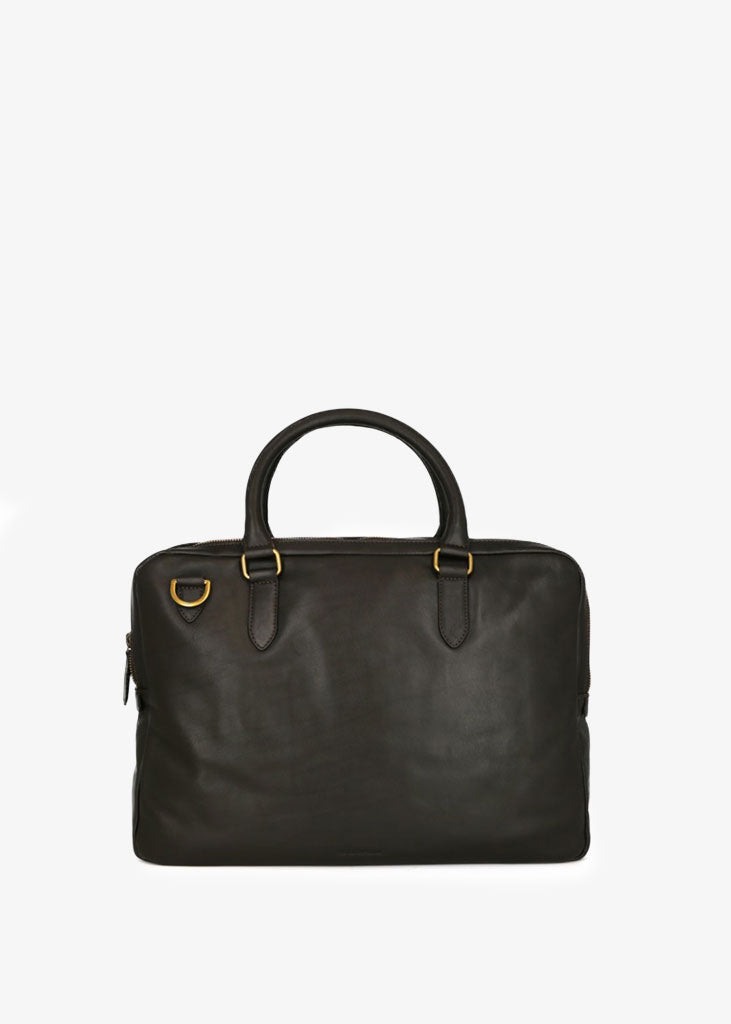 Capital Laptop Bag Double Brown