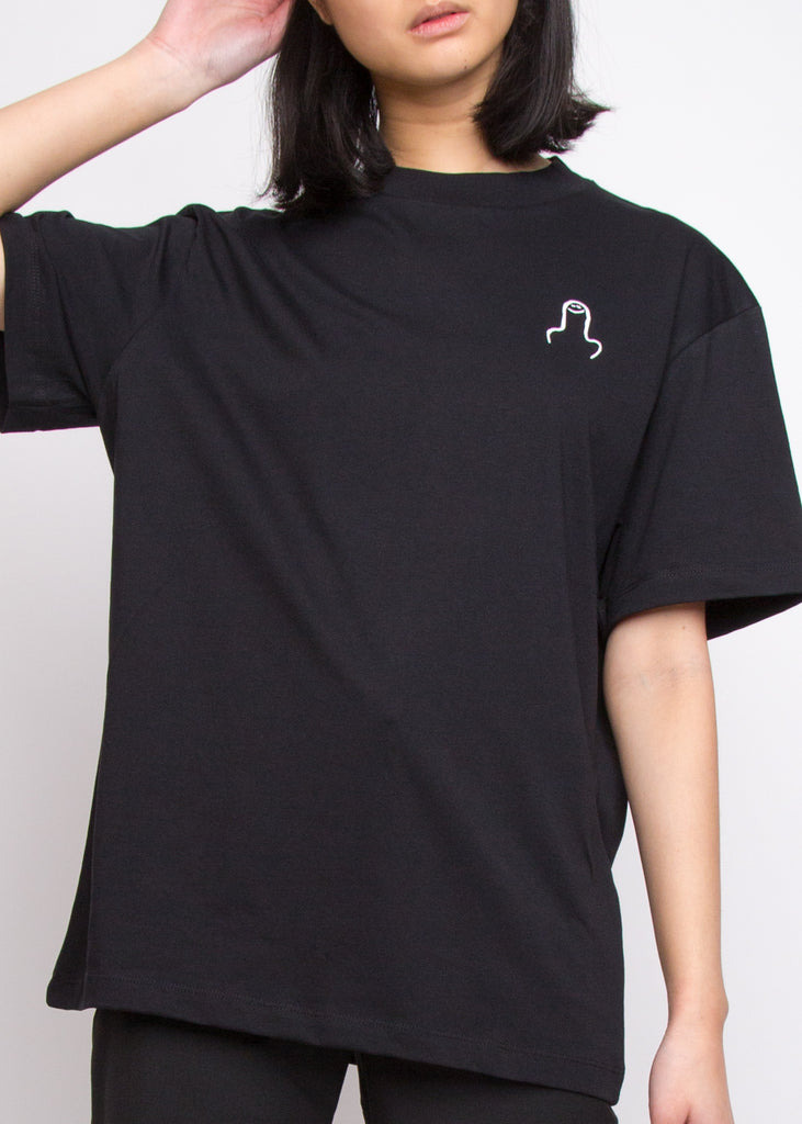 The Big D Tee Black