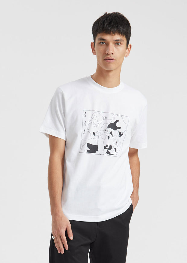 Wow Wow Wow T-Shirt White