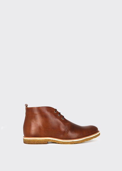 Cast Crepe Chukka Shoes Tan