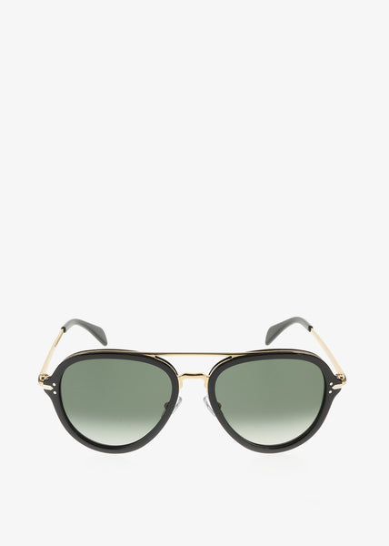 Drop Sunglasses Black Gold