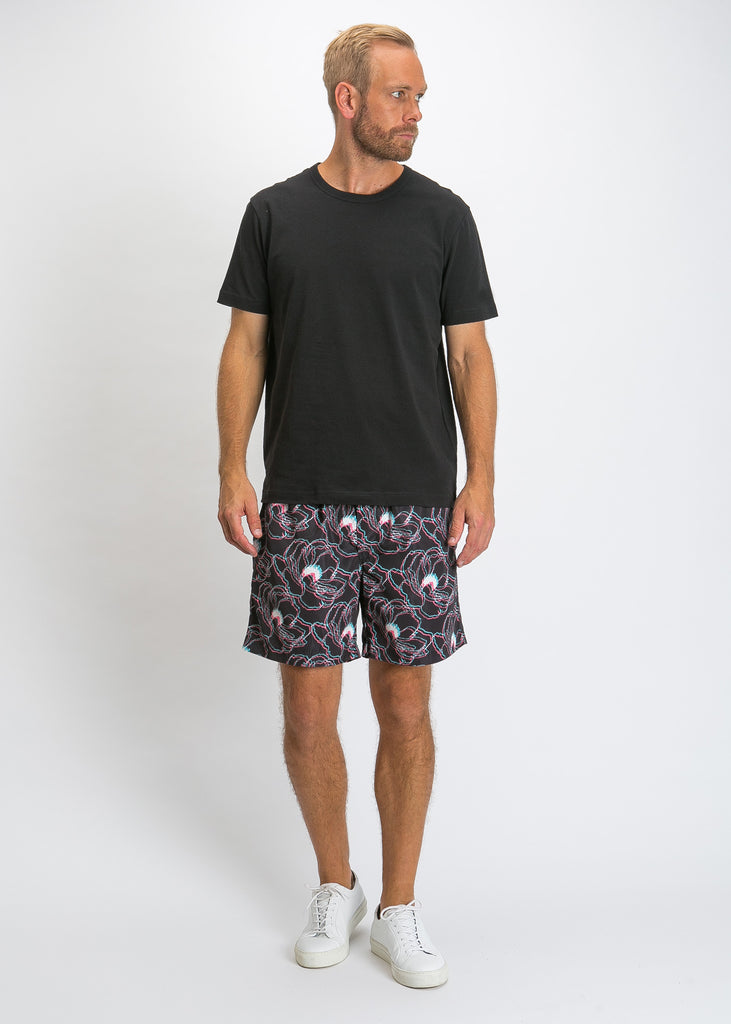 Swim Shorts 3D Flora Night
