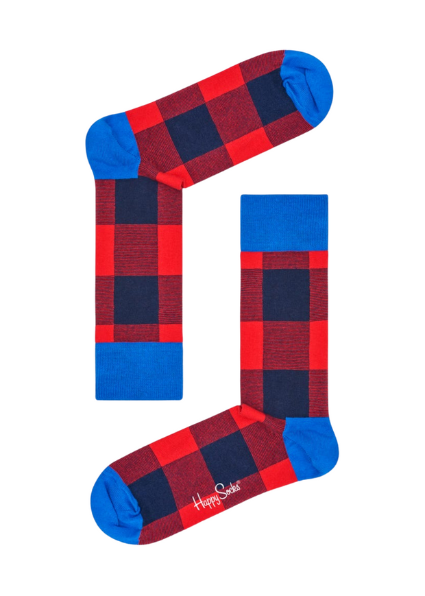Lumberjack Socks Red Blue