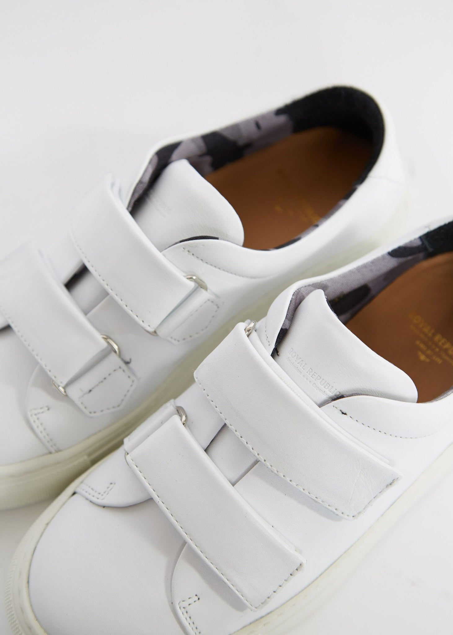 Elpique Strap Shoe White