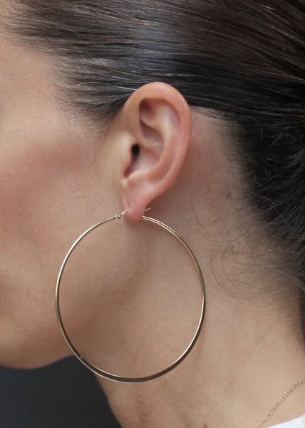 Brigitte Earrings Gold