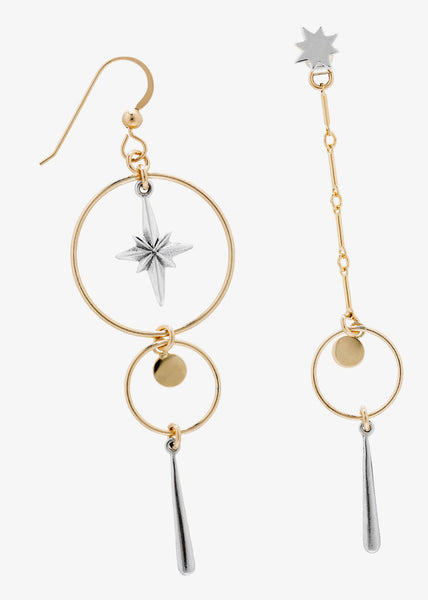 Etoile Du Nord Earrings Gold