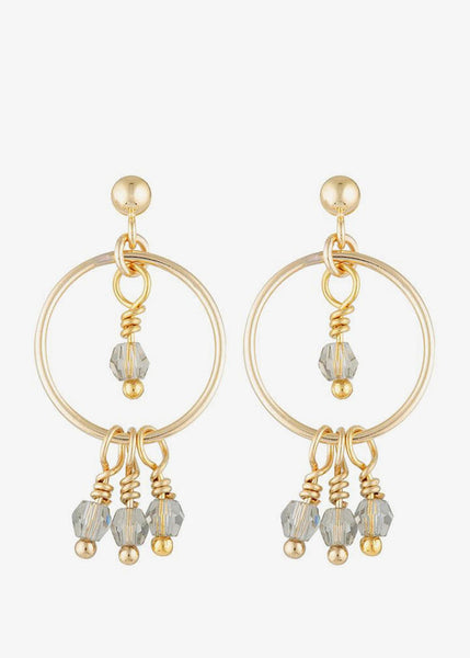 Leo Earrings Gold