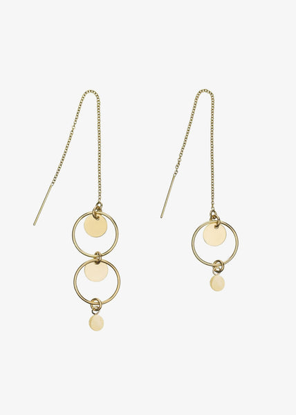 Nicole Earrings Gold