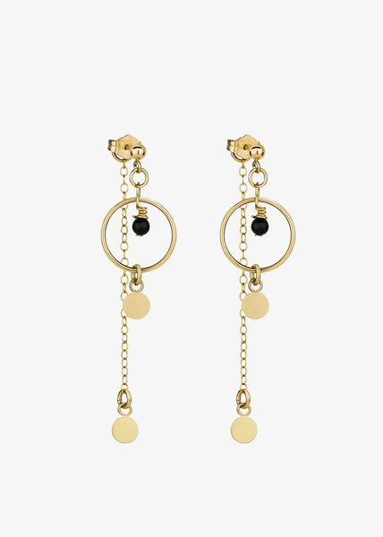 Pollux Earrings Gold