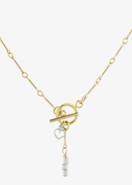 Toujours Necklace Gold