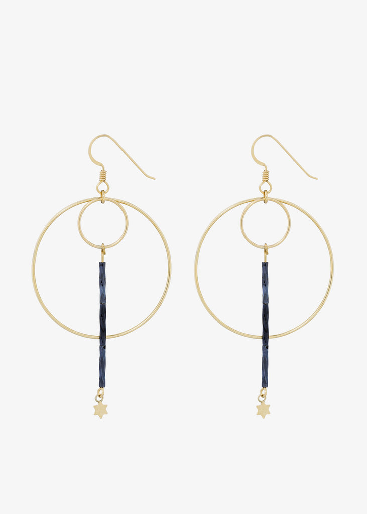 Tova Earrings Blue