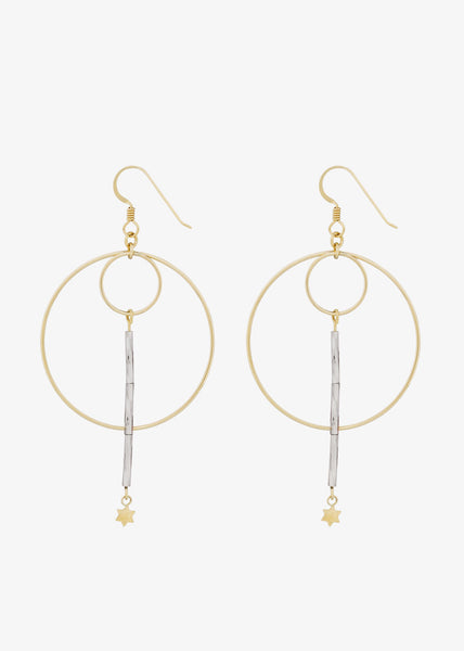 Tova Earrings Light Pink