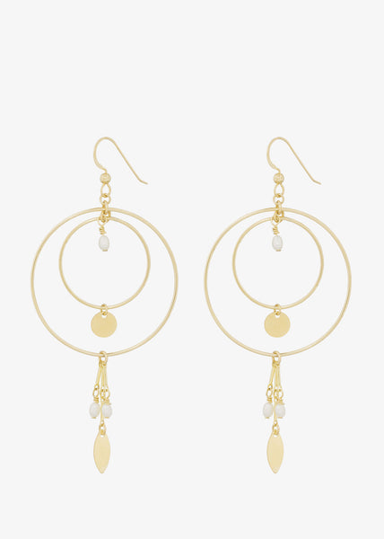 Zaza Earrings Pearl