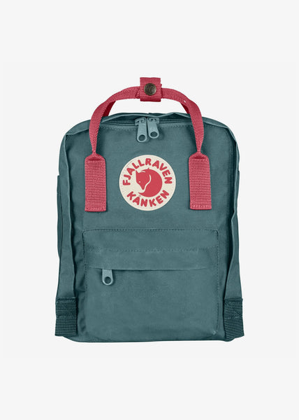 Kanken Mini Backpack Frost Green Peach Pink