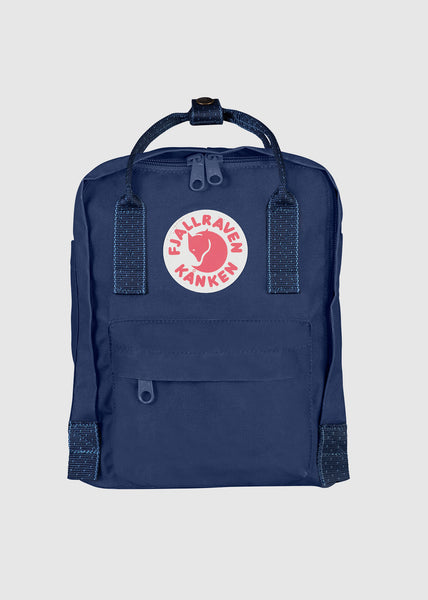 Kanken Mini Backpack Royal Blue Pinstripe