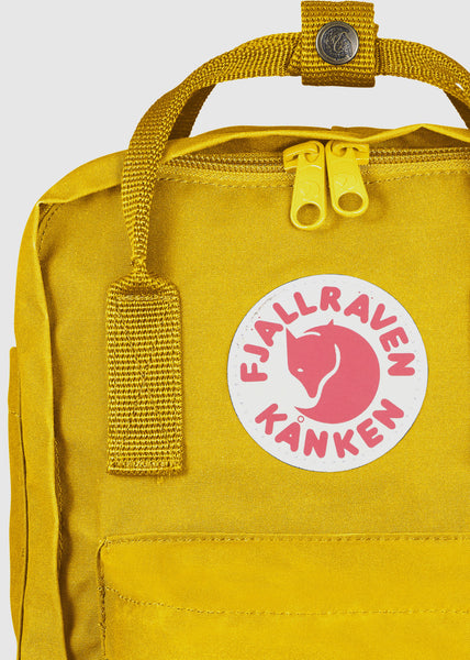 Kanken Mini Backpack Warm Yellow