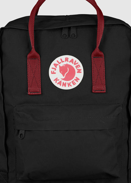 Kanken Backpack Black/Ox Red