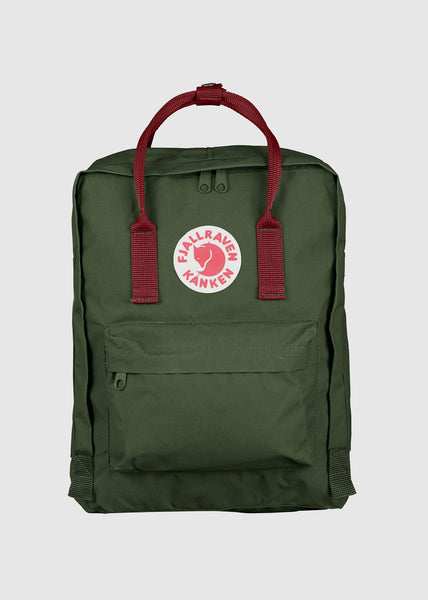 Kanken Backpack Forest Green/Ox Red