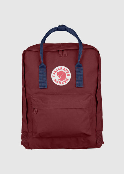 Kanken Backpack Ox Red/Royal Blue