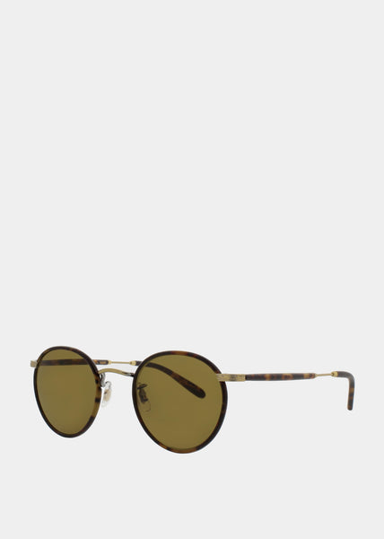 Wilson Sunglasses Tortoise-Matte Spotted Tortoise/Pure Brown
