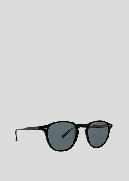 Hampton Sunglasses Black/Blue Smoke Polar