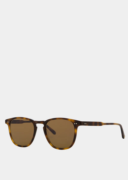 Brooks Sunglasses Classic Brown Tortoise/Semi Flat Pure Coffee