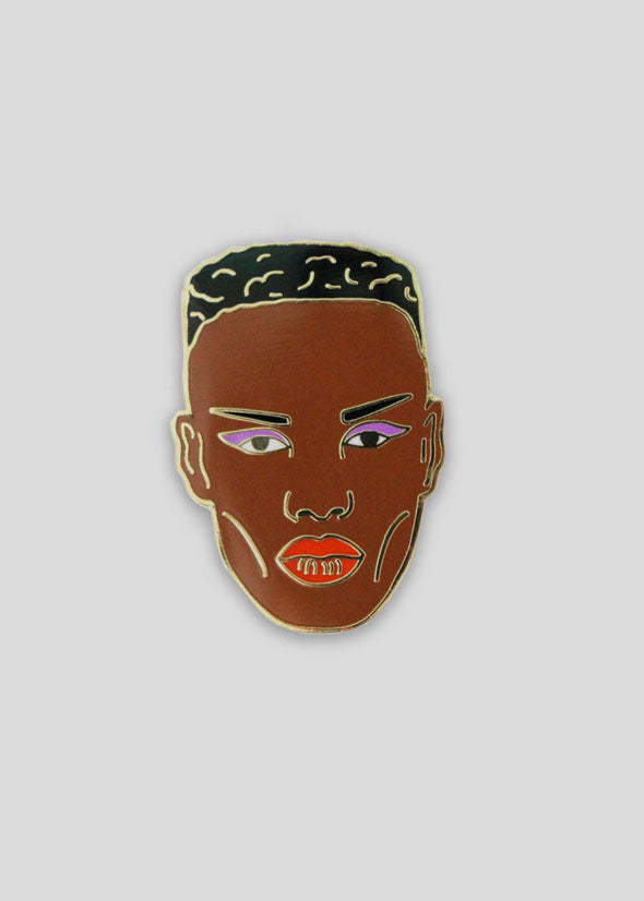 Grace Jones Pin