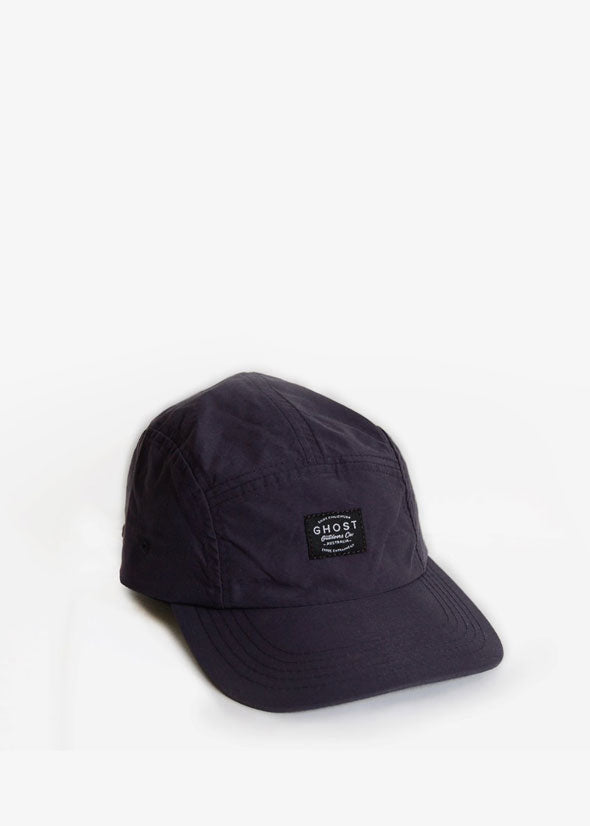 Nylon 5-Panel Hat Deep Navy