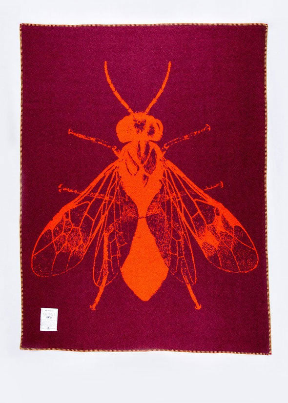Wool Army Blanket Blowfly
